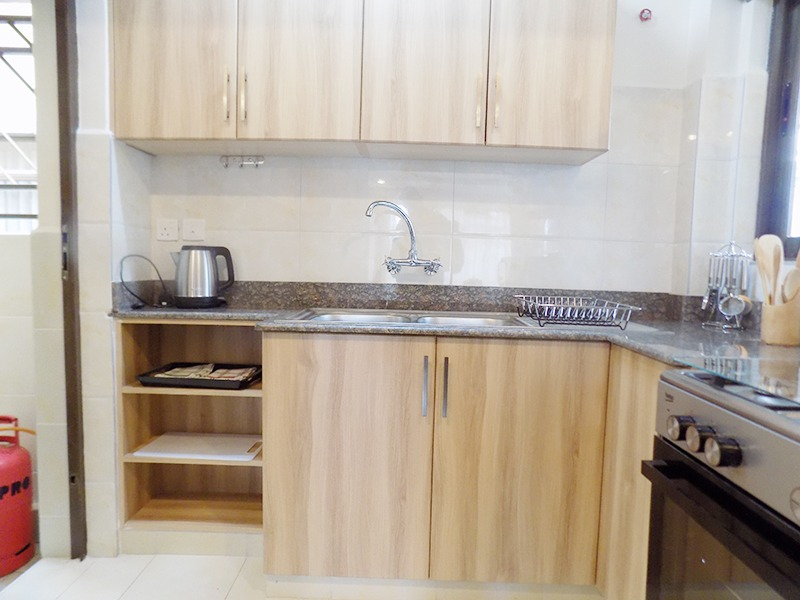 Two (2) Bedrooms Fully Furnished and Serviced Apartments for Rent at Ksh130k on Riverside Drive with outside balcony13
