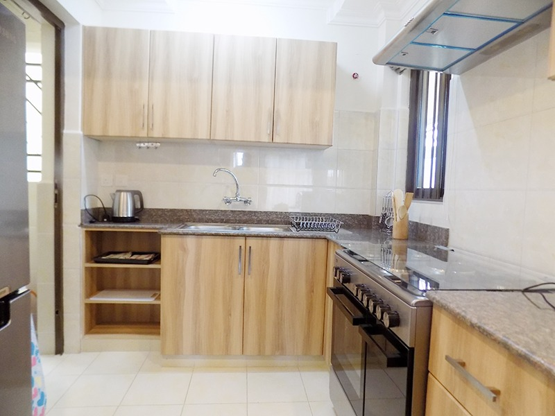 Two (2) Bedrooms Fully Furnished and Serviced Apartments for Rent at Ksh130k on Riverside Drive with outside balcony14