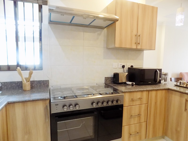 Two (2) Bedrooms Fully Furnished and Serviced Apartments for Rent at Ksh130k on Riverside Drive with outside balcony17
