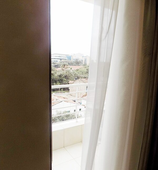 Two (2) Bedrooms Fully Furnished and Serviced Apartments for Rent at Ksh130k on Riverside Drive with outside balcony18