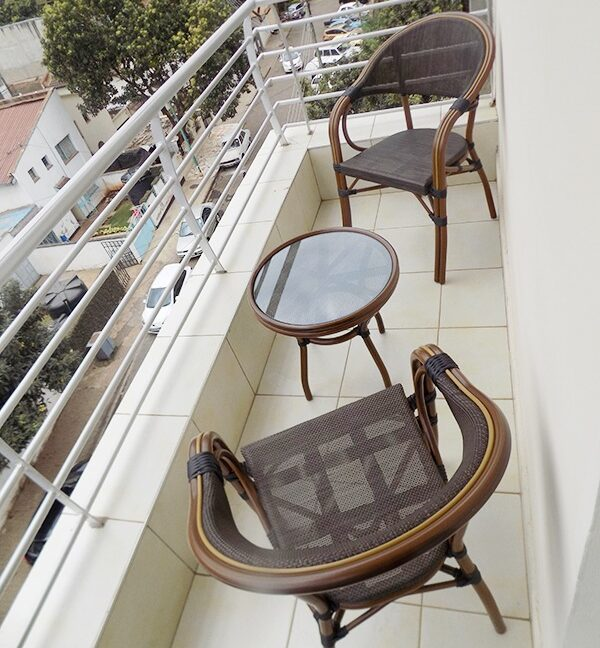 Two (2) Bedrooms Fully Furnished and Serviced Apartments for Rent at Ksh130k on Riverside Drive with outside balcony20