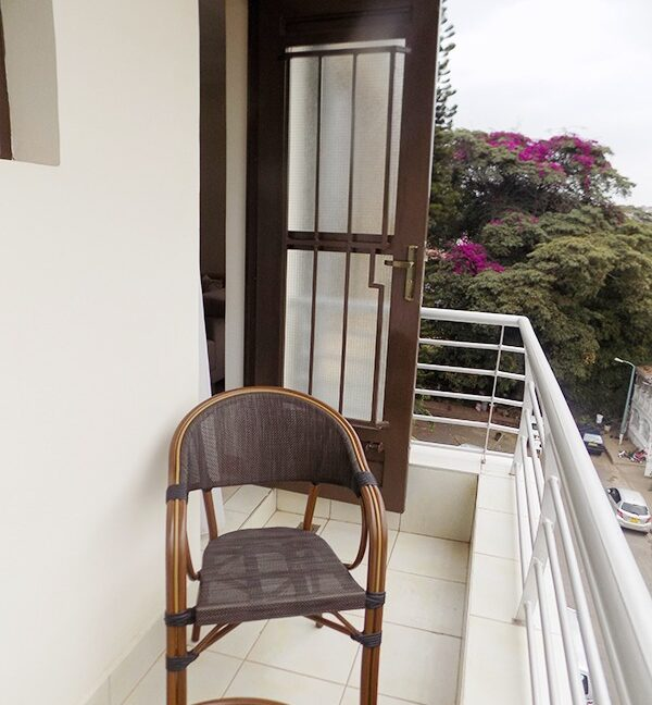 Two (2) Bedrooms Fully Furnished and Serviced Apartments for Rent at Ksh130k on Riverside Drive with outside balcony22