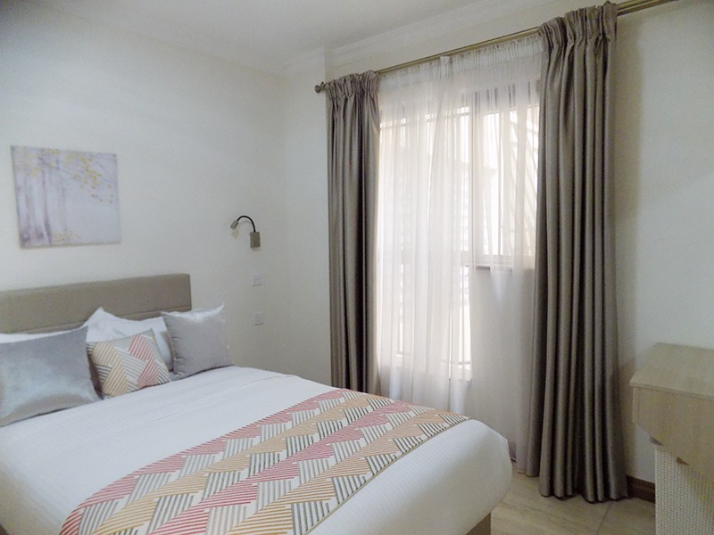 Two (2) Bedrooms Fully Furnished and Serviced Apartments for Rent at Ksh130k on Riverside Drive with outside balcony26