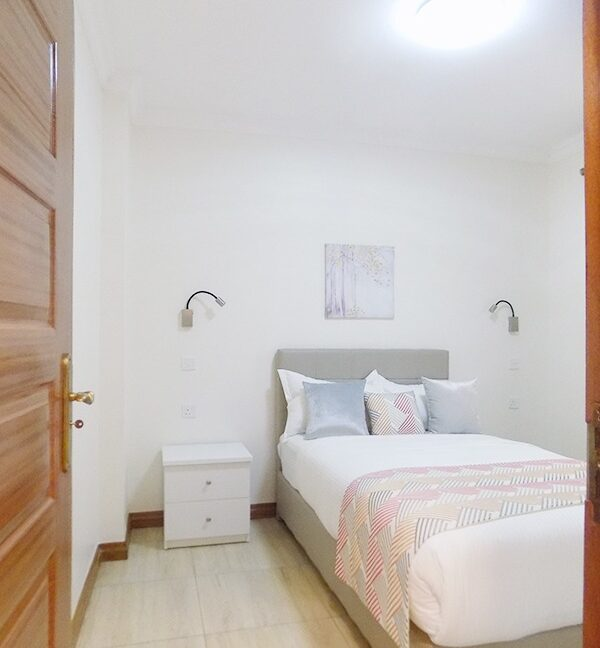 Two (2) Bedrooms Fully Furnished and Serviced Apartments for Rent at Ksh130k on Riverside Drive with outside balcony28