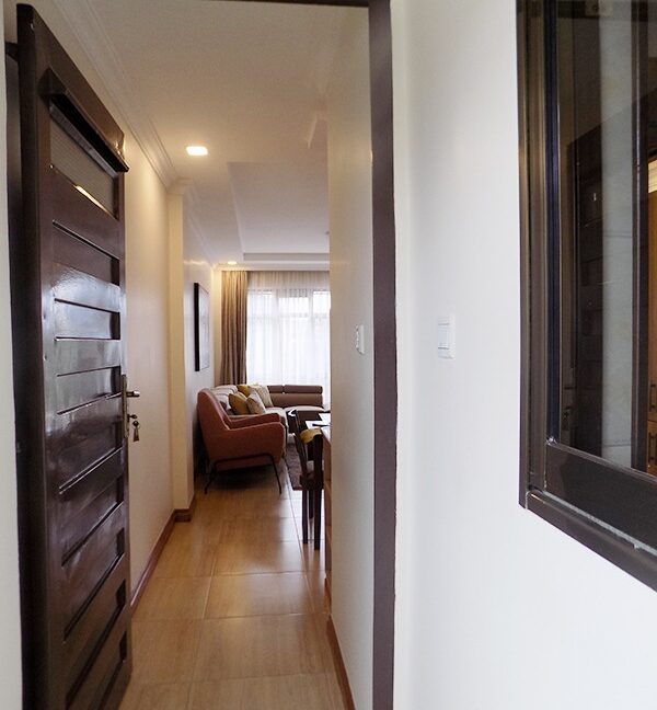 Two (2) Bedrooms Fully Furnished and Serviced Apartments for Rent at Ksh130k on Riverside Drive with outside balcony4