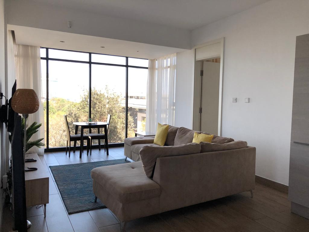 Two Bedroom Fully Furnished Apartment For Rent at Ksh170k located on Muthangari Drive, Westlands